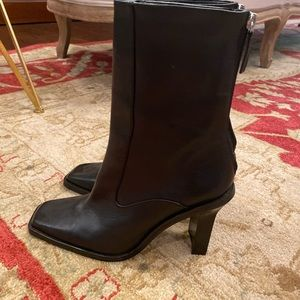 NEW! ZARA ankle booties